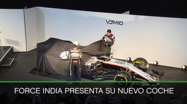 F1 - Force India presenta su nuevo coche