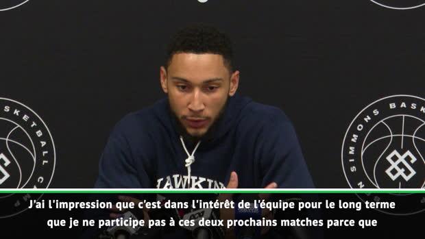 """Basket : Sixers - Ben Simmons - """"Super difficile de manquer la Coupe du Monde"""""""