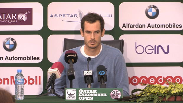 "Doha: Murray: ""Kann Australian Open gewinnen"""