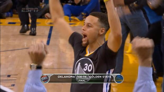 Les Warriors r�sistent au Thunder