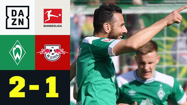Bundesliga: SV Werder Bremen - RB Leipzig | DAZN Highlights