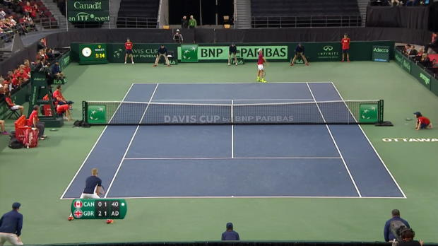 Davis Cup: Skandal! Kanadier schießt Schiri ab
