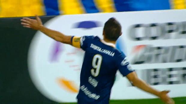 Copa Libertadores: Volley-Kracher zum Hattrick