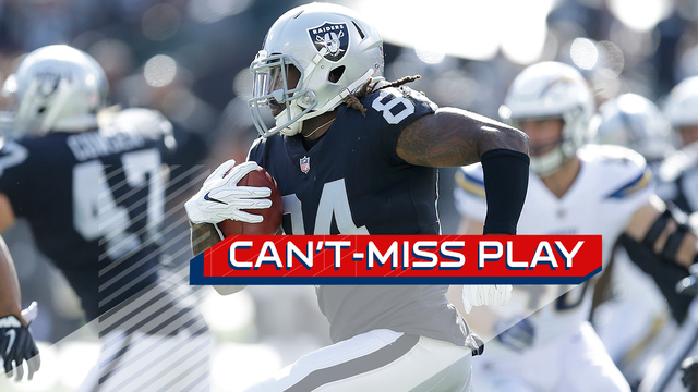 Can't-Miss Play: Oakland Raiders wide receiver Cordarrelle Patterson takes off for electrifying rushing TD