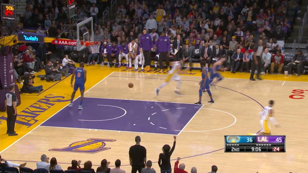 Dunk of the Night: Larry Nance Jr.