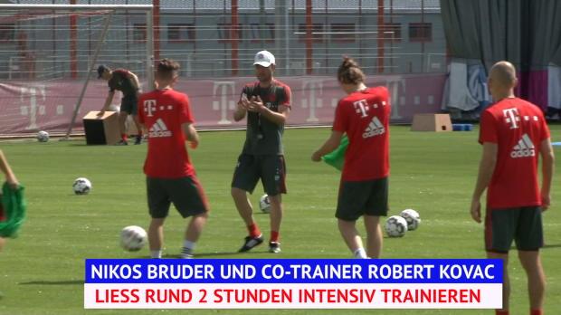 FCB-Trainingsvollgas unter Kovac-Vertreter Kovac