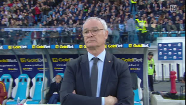 Serie A: SPAL - AS Rom   DAZN Highlights