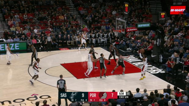 GAME RECAP: Blazers 121, Spurs 108