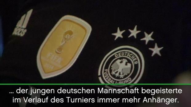 Confed Cup: Fans feiern junges DFB-Team