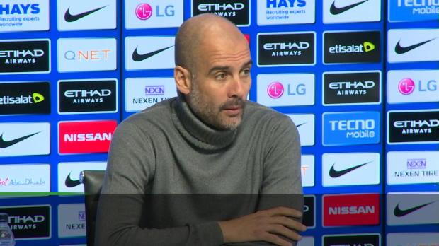 """Guardiola: """"Bin total happy mit diesem Kader"""""""