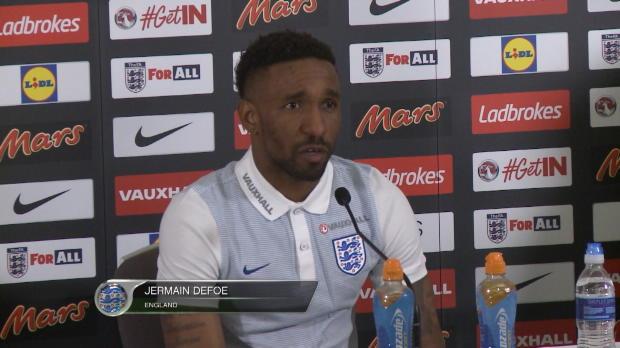 """England: Defoe: """"Wenn ich fit bin treffe ich"""""""