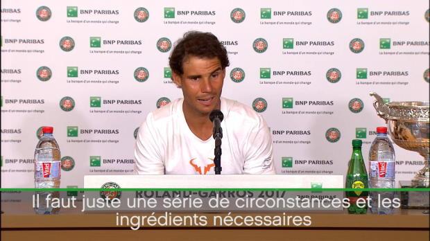 : Roland-Garros - Nadal - 'Si je l'ai fait, quelqu'un d'autre peut le faire'