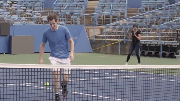 Basket : Citi Open - Murray testé au tennis-ballon par Rooney
