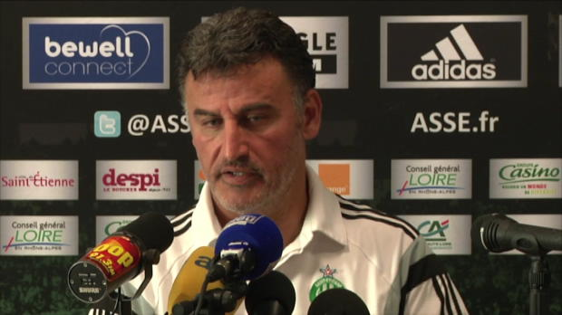 "Foot : ASSE - Galtier : ""Lille est un concurrent direct"""