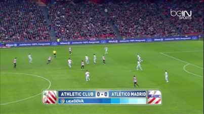 Liga : Athletic Bilbao 1-4 Atletico Madrid