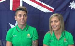 Westfield Matildas Michelle Heyman and Katrina Gorry on being in camp as the Matildas start their build up to June's FIFA Women's World Cup 2015.