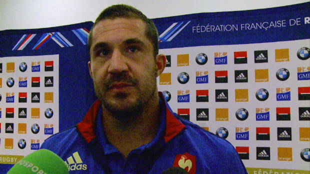 XV de France - Spedding - 'On cr�e mais on n'arrive pas � finir'
