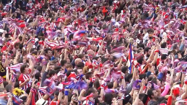 Nach EL-Sieg! Atleti feiert Titel in Madrid