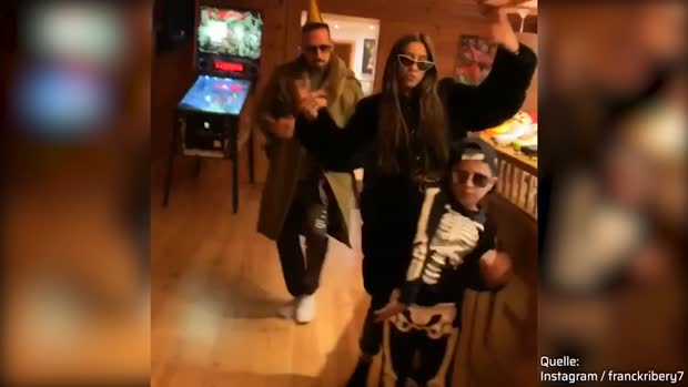 Geburtstags-Party bei Familie Ribery | Viral