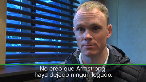 """Froome: """"No hay legado de Armstrong"""""""