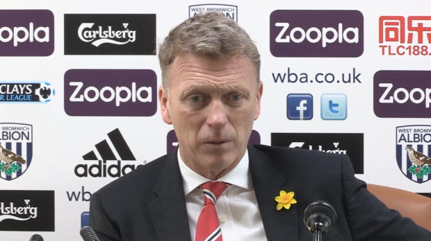 P.League - Man United, Moyes encourag� par l'attitude de United