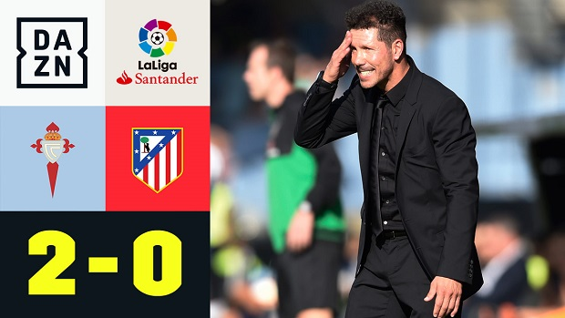 LaLiga: Celta Vigo - Atletico Madrid | DAZN Highlights