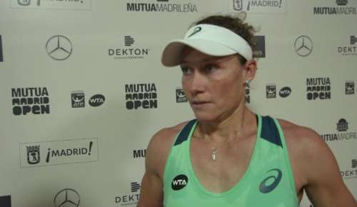 Stosur Interview: WTA Madrid QF