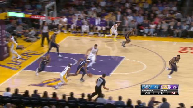 Block of the Night: DeMarcus Cousins