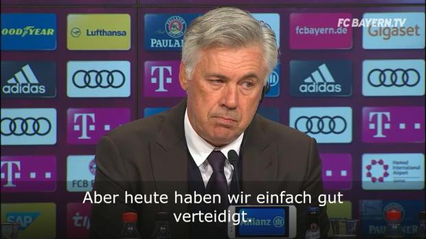 """Ancelotti: """"Haben einfach gut verteidigt"""""""