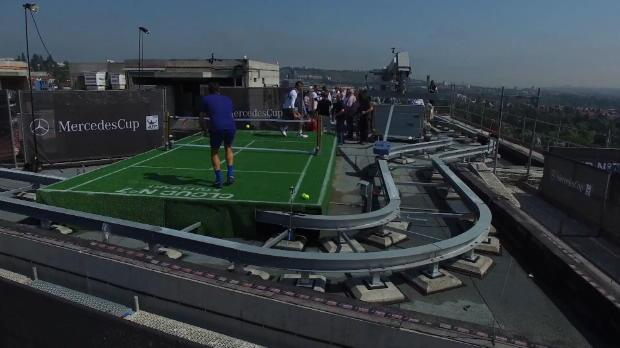 Tennis auf Wolke 7: Federer und Haas zaubern