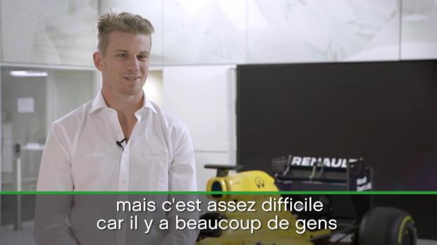 Renault - Hulkenberg - 'Construire un avenir fort et durable'