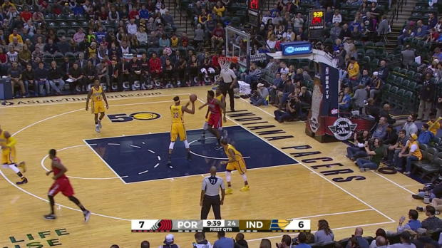 WSC: CJ McCollum goes for 34 points in loss to the Pacers