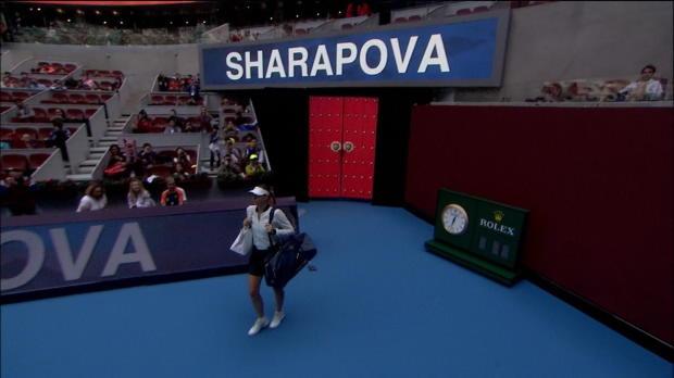 Peking: Sharapova ist zurück unter den Top 100