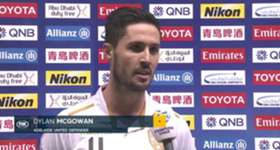 Dylan McGowan says Tuesday night's win over Jeju United gives Adelaide United a chance to progress from the Group Stage in the ACL.