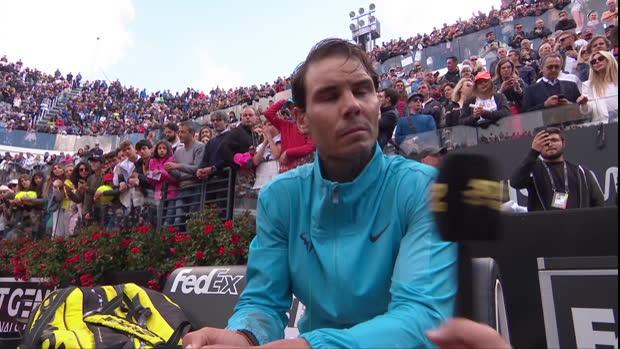 """Rom: Nadal nach Sieg: """"Einfach unglaublich"""""""