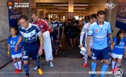 Melbourne Victory claimed the season ten Championship following a 3-0 win over Sydney FC.