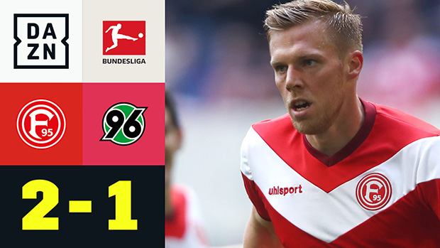 Bundesliga: Fortuna Düsseldorf - Hannover 96 | DAZN Highlights