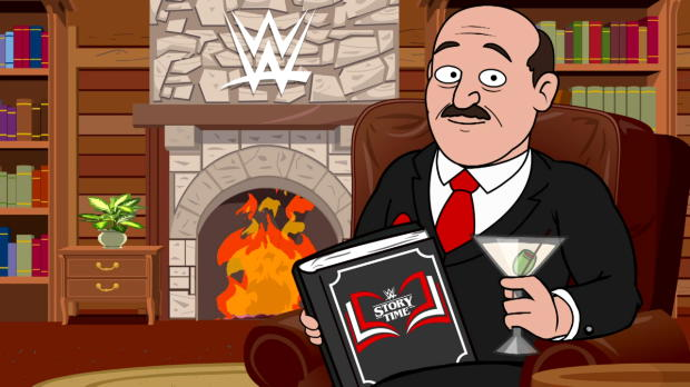Go behind the scenes of the new season of WWE Story Time