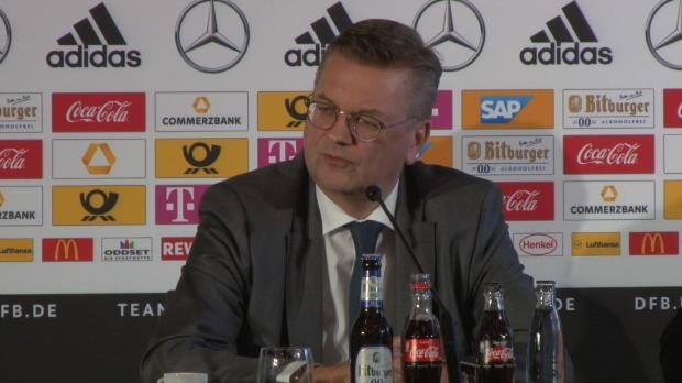 """Grindel zur WM: """"Fokus liegt auf sportlichem"""""""