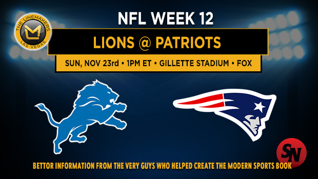 Detroit Lions @ New England Patriots