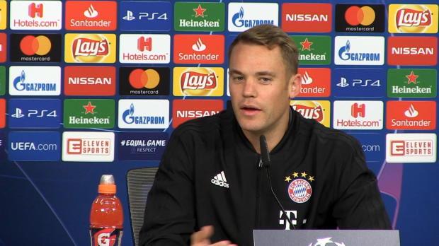 """Neuer: """"Wollen zeigen, mit FCB ist zu rechnen"""""""