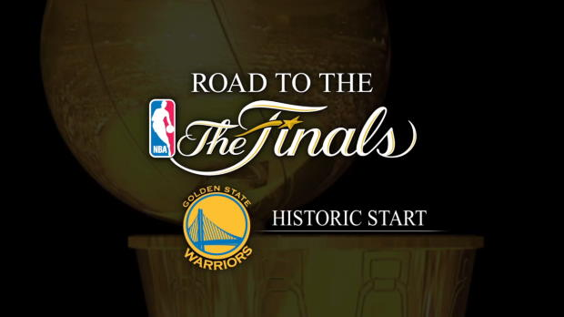 Road to the Finals #2: Golden State Warriors -- Historic Start