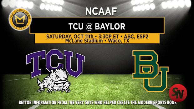 TCU Horned Frogs @ Baylor Bears