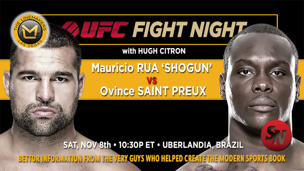 UFC Fight Night: Rua Vs. Saint Preux