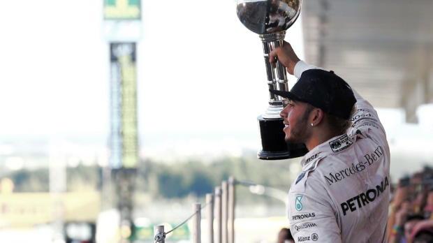 """F1: Mansell: """"Hamilton hat WM-Sieg in der Tasche"""""""