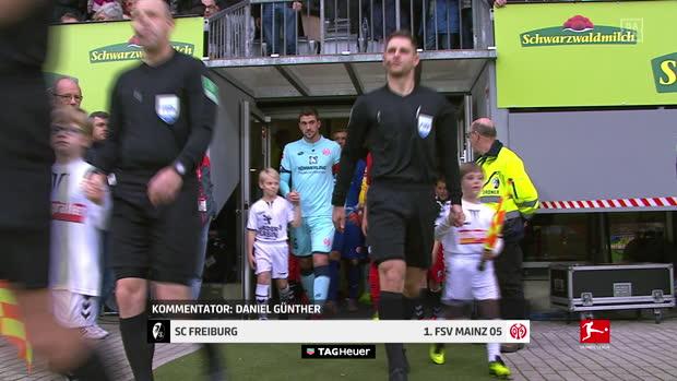 Bundesliga: SC Freiburg - 1. FSV Mainz   DAZN Highlights