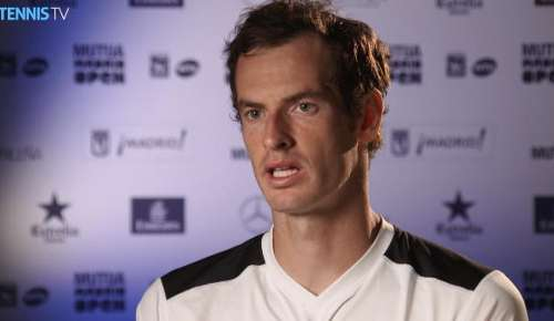 Murray Interview: ATP Madrid QF