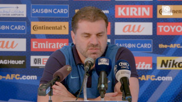 Ange enjoying long Socceroos camp