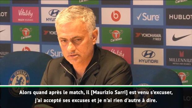 Mourinho - 'Jaccepte ses excuses'