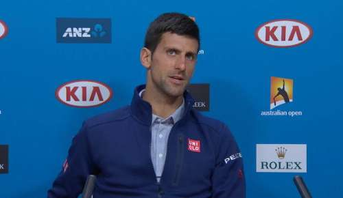 Djokovic Interview: Australian Open Final